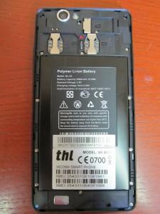 THL 5000 baterie
