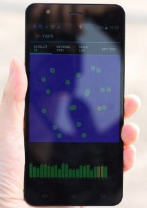 JiaYu S3 GPS s upravenou ROM