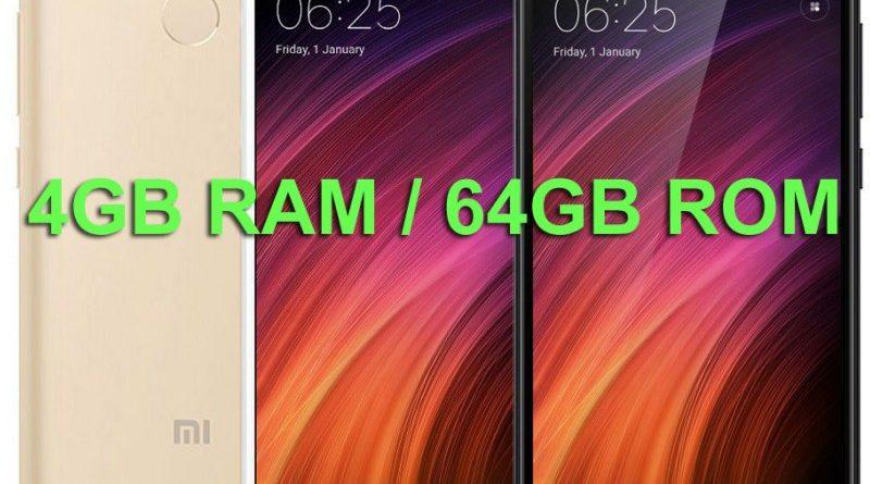 Xiaomi Redmi 4 GB RAM / 64 GB ROM