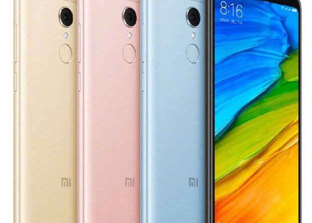 Xiaomi Redmi 5 Global: skladem již brzy