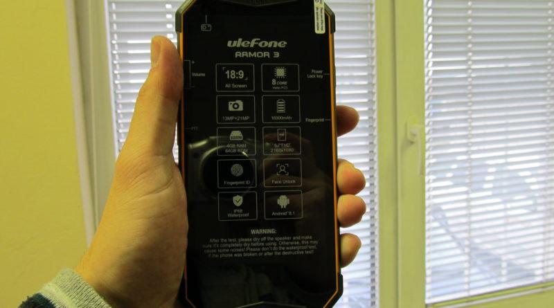 Ulefone Armor 3: nejlepší outdoor telefon