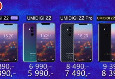 Akční cena Umidigi Z2 PRO