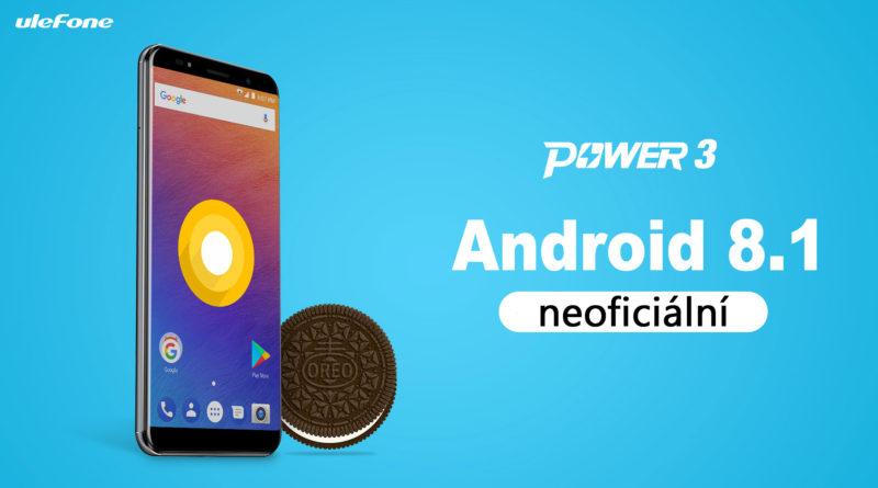 Ulefon Power 3 Android 8.1